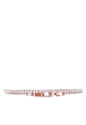 Mestige 粉紅色 Swarovski手環 7A178AC2E4158DGS_1