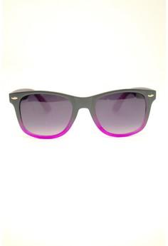 Asher Wayfarers Sunglasses by Ohrelle Sunnies