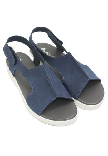 Jual Dr. Kevin Dr. Kevin Women Flat Sandals 26142 - Biru