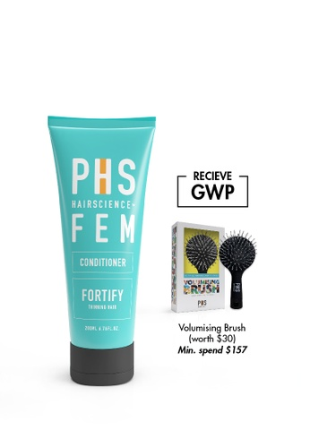 PHS HAIRSCIENCE PHS HAIRSCIENCE FEM Fortify Conditioner (For Female Seasonal/Temporary Hair Loss and Thinning) 200ml PH462BE0FAKISG_1