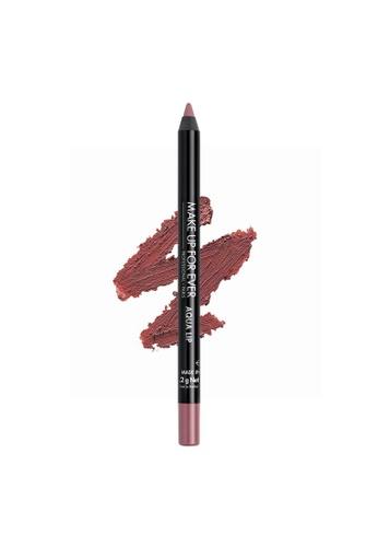 MAKE UP FOR EVER pink AQUA LIP - Waterproof Lip Liner Pencil 1,2G 15C 4FA18BE3AAD1A7GS_1