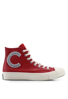 8f450b8f3e188 Converse red Chuck Taylor All Star 70 Hi Sneakers C1818SH22DD1D9GS 1