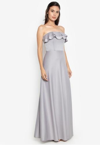 Tantease grey Silva Dress 725CBAAA9AFC46GS_1