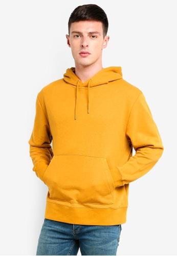 Topman 黃色 經典連帽上衣 74B2CAA108C054GS_1