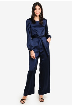 0593f0cb9d03 77% OFF CLOSET Puff Sleeve Jumpsuit S  216.90 NOW S  48.90 Sizes 8 10 12 14