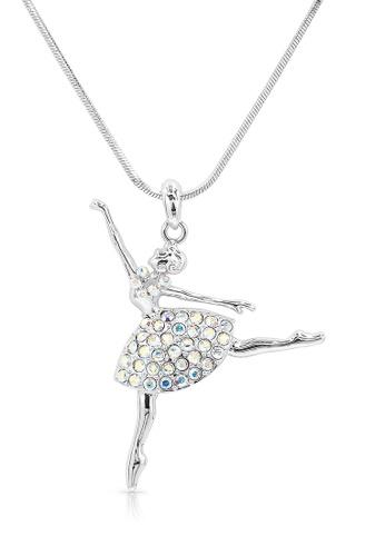 SO SEOUL silver Ellie Ballerina Second Arabesque Necklace D6FF1AC9CABFEDGS_1