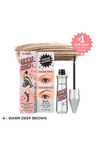 Benefit brown Gimme Brow+ Volumizing Eyebrow Gel Shade 04 605A0BED7515FDGS_1