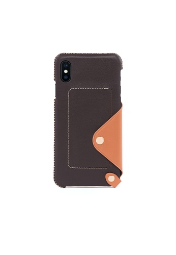 OBX brown Irish Layered iPhone Xs Max Leather Pocket Case B67D9AC3620192GS_1