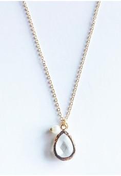 Chloe Clear Crystal Necklace