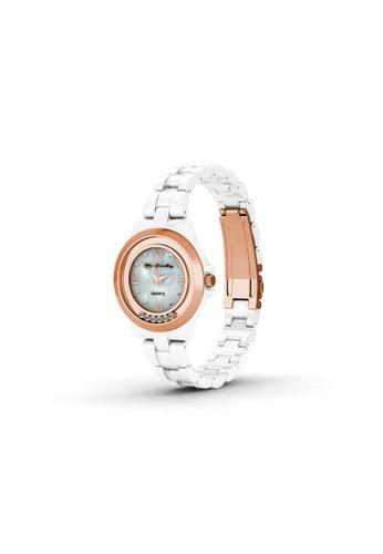 Her Jewellery white Hip Watch (White) - Crystals from Swarovski® HE210AC11XDKSG_1