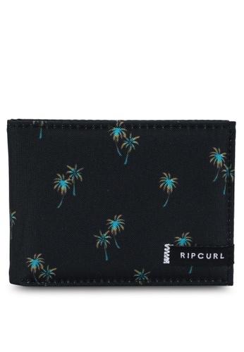 Rip Curl black Combo Pu Slim Wallet 6D05EAC50B7DC8GS_1