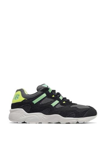 New Balance black Classic 850 Shoes A9DF7SH63F9FE8GS_1