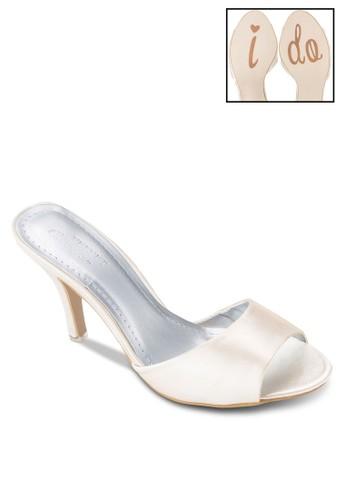Occasion 寬帶懶人高跟鞋, 女鞋,esprit hk outlet 鞋