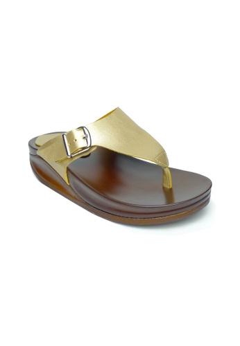Ohrelle gold Leslie Thongs Sling Back Flip Flops OH449SH20BYPPH_1