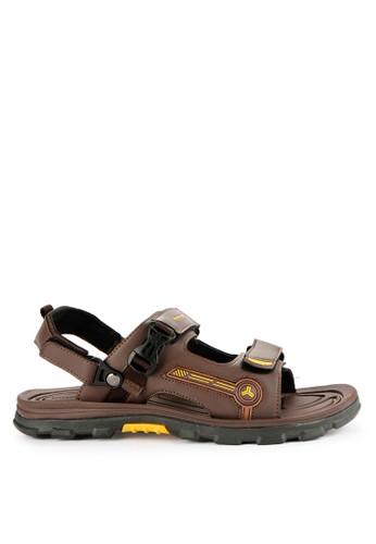 Homyped brown Alpen 02 Men Sandal Gunung C2C97SHA7FB629GS_1