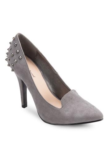 鉚釘尖頭高跟鞋, 女鞋esprit 旺角, 知性女強人