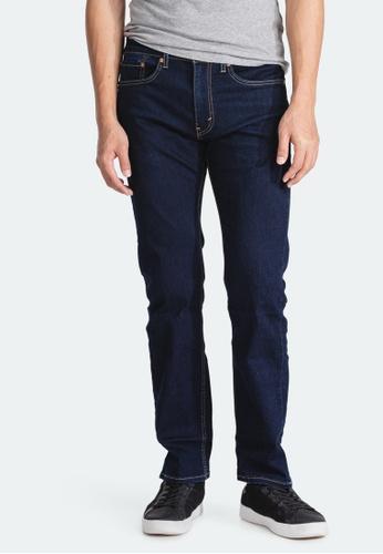 Levi's blue Levi's 505 Regular Fit Jeans Men 00505-2012 DB81AAA8F14DD7GS_1
