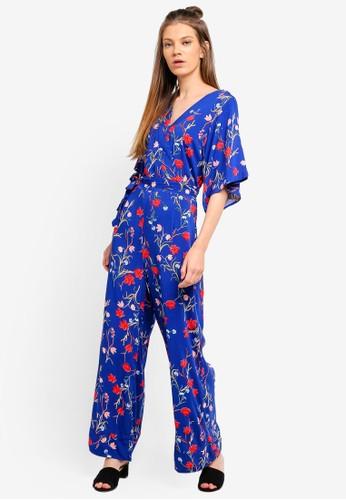 Cotton On blue Woven Kassie Kimono Sleeve Maxi Dress D29CAAA99A44B2GS_1