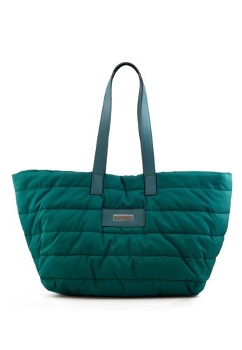 Shu Talk green Teresa Cambi Causal Shopper Tote Bag 6C253ACF7CE320GS_1