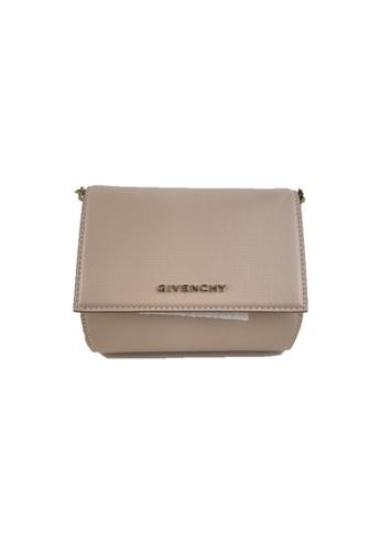 GIVENCHY beige PRE-LOVED GIVENCHY MICRO PANDORA BOX CHAIN BAG E712CACEA96A1BGS_1