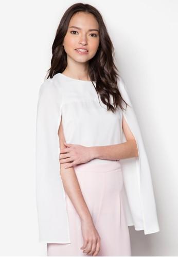 Ava 披風式上衣esprit au, 服飾, 服飾
