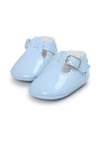 RAISING LITTLE blue Colored Patent Tbars Shoes - Baby Blue CF5FCKSC6AED63GS_1