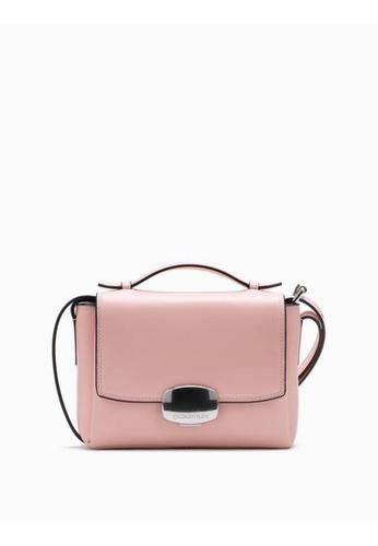 Calvin Klein pink Logo Buckle Crossbody Bag 13061AC91EEB09GS_1