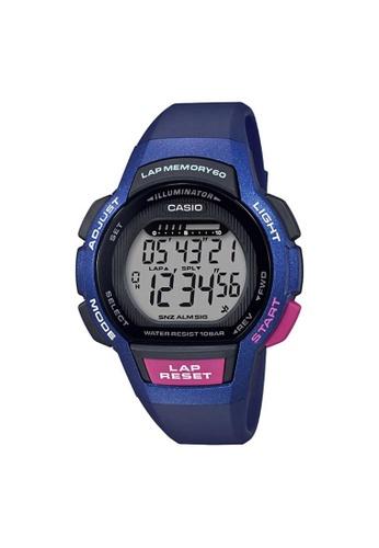 Casio blue CASIO GENERAL LWS-1000H-2AVDF UNISEX'S WATCH 50BD5AC4F74AA6GS_1