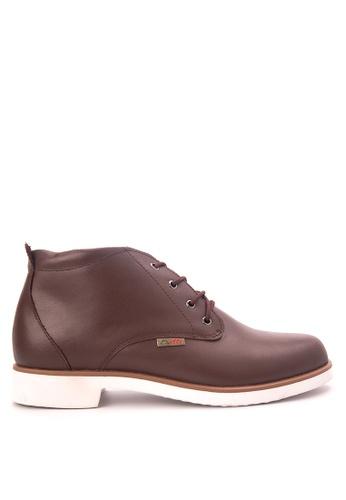 Itti brown Chukka Boots IT425SH61NHAPH_1