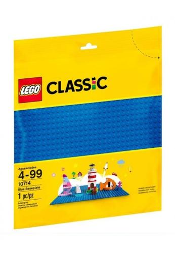 LEGO multi LEGO Classic 10714 Blue Baseplate (1 Pieces) AD972TH32FAE0EGS_1