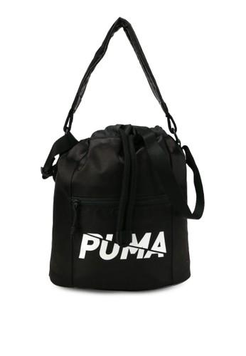 PUMA black Core Base Bucket Bag 6A15CAC9D3E8ACGS_1
