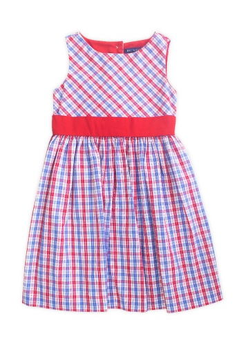 PERIWINKLE red Issa Casual Dress 91899KAECD849AGS_1