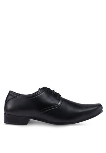 Bata black Lace Up Dress Shoes 540E6SH35097BBGS_1