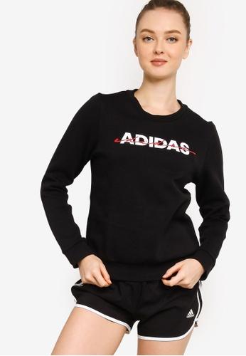 ADIDAS black must haves sweatshirt BAEEEAA1859DE9GS_1