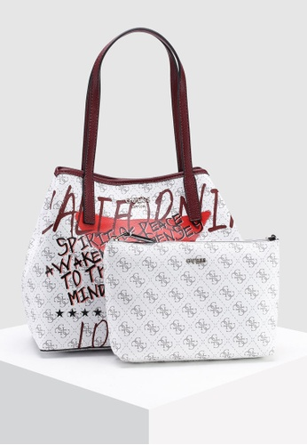 bd8c78afbad1 Buy Guess Vikky Tote Bag Online on ZALORA Singapore