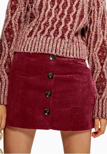 5e60a4dad5 Buy TOPSHOP Cord Pocket Mini Skirt Online | ZALORA Malaysia