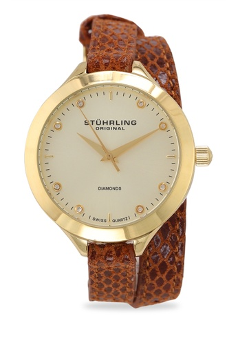 Stuhrling Original gold Vogue 624 Watch 36FB5AC52CD288GS_1