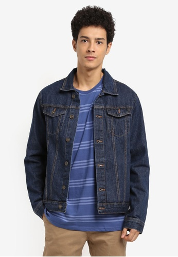 Cotton On blue Rodeo Jacket BE50DAAA081B1EGS_1