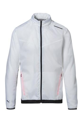 Porsche Design white Porsche Design x PUMA White Men's Active Jacket for Men D944CAA6177B26GS_1