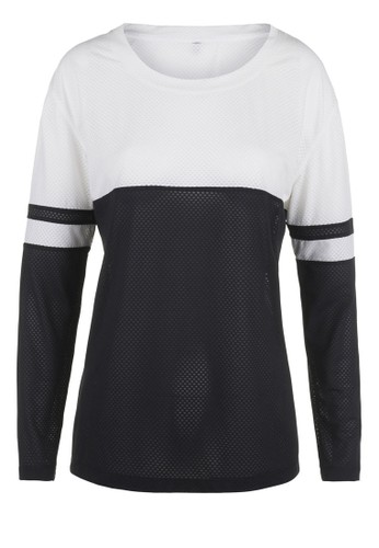 Eyes On Mesprit 兼職e Long Sleeve Active Top, 服飾, 運動