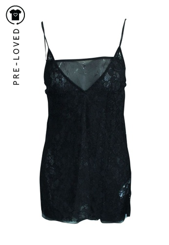 Reformation black Pre-Loved reformation Black Lace Top 74DB5AAB8FFDFFGS_1