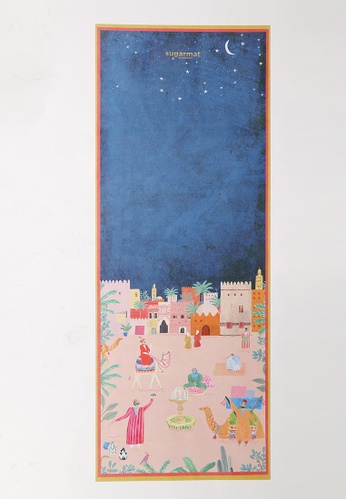 Sugarmat multi Marrakesh - Suede Travel Yoga Mat (1MM) C1B85SE49B117EGS_1