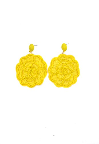 Istana Accessories yellow Anting Camilla Fashion Earrings 7DED4ACFFE1045GS_1
