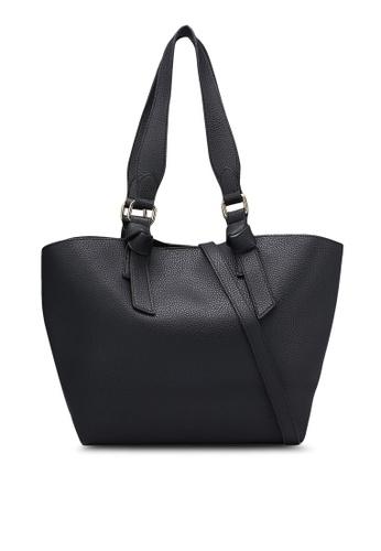 Dorothy Perkins black Black Oversized Handle Tote DO816AC0RJQLMY_1