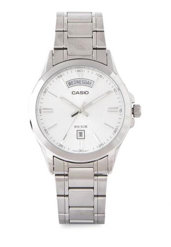 Casio silver Casio Jam Tangan Mtp-1381D-7AVDF Silver E01F9AC18CE5D1GS_1