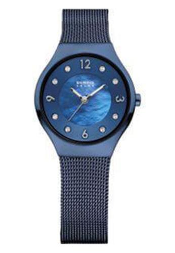 Bering blue Solar 14427-393 Blue 27 mm Women's Watch 9A62FAC913B3EFGS_1