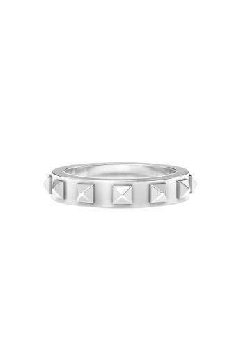 Aquae Jewels white Ring Rich & Bold Peaks – 18K Gold - White Gold 7203BAC159682DGS_1