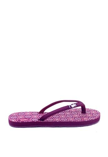 Ripples purple Nadia Flip Flops 48681SHBEE731CGS_1