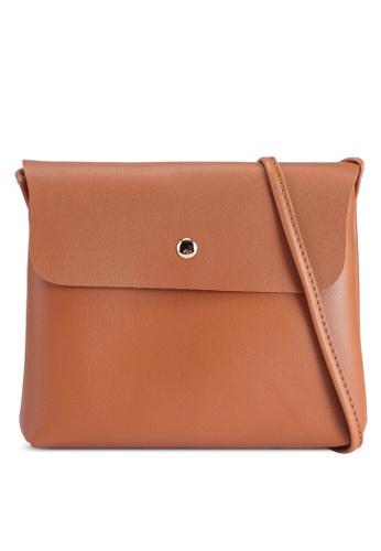 Rubi brown Felicity Cross Body Bag D1A1AAC35F6550GS_1