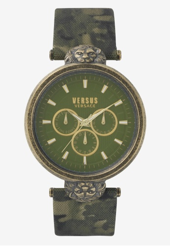 Versus green Versus Victoria Harbour Camo Strap Ladies Watch VEVSP330117 VE464AC0SBIVMY_1